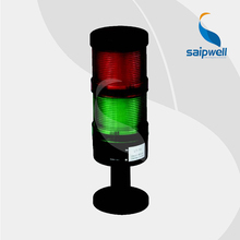 4W 12/24/110/220V DC  2 layer  LED  Signal Tower Lamp /  Industrial ABS Steady Light  Warning Light (LT-70-2)