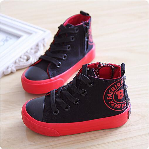 2015 NK Jordan Fashion Casual Canvas Children Sneakers Kids Basketball  Sport Shoes Baby Boys Girls Running Shoes SIZE 23-37 6dfc01dc6fa8