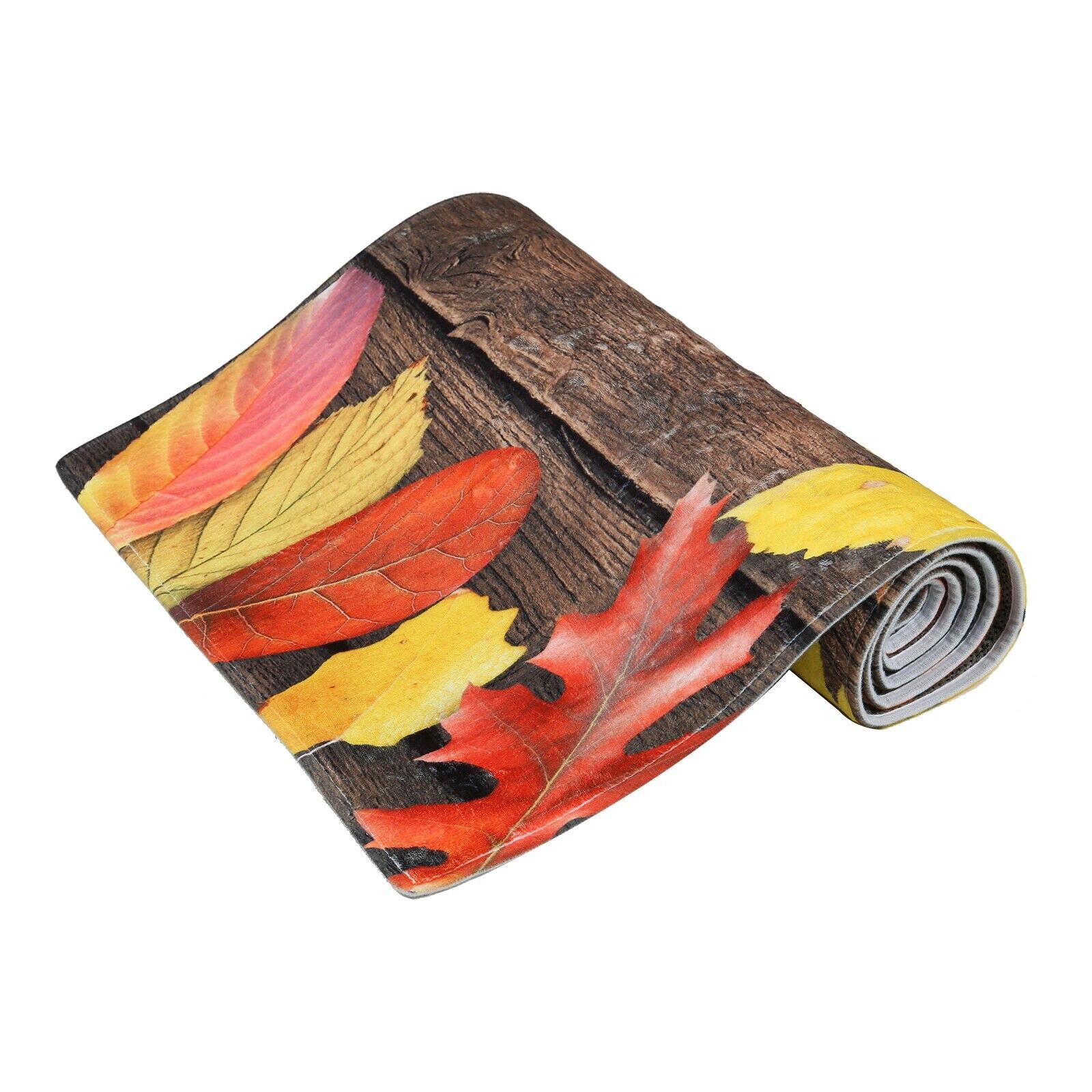 Tapis de sol de cuisine antidérapant tapis lavable à la Machine porte grand tapis de zone de Carpe de couloir de coureur pour la cuisine