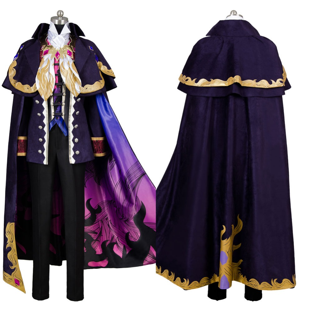 2017 Hot Sale Fate Grand Order Monte Cristo Edmond Dantes Avenger Cosplay Costume Full Sets