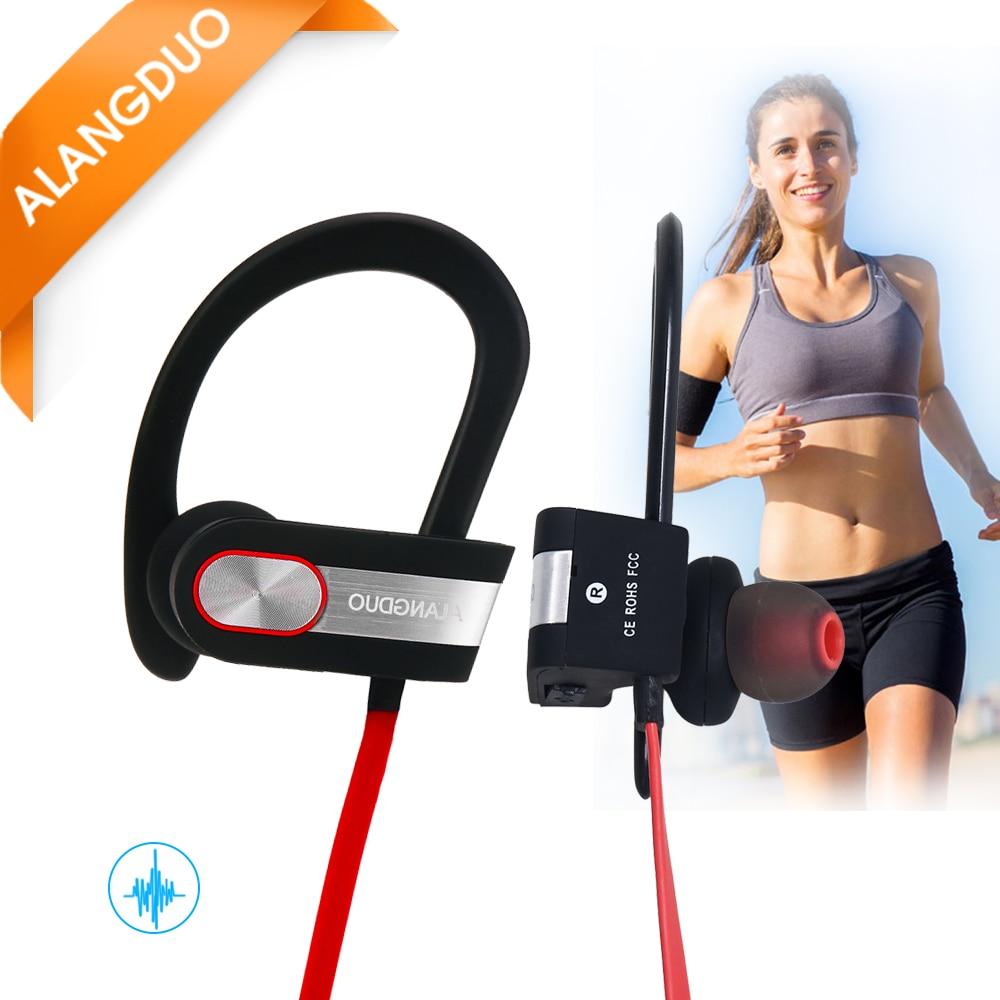 bilder für ALANGDUO G7 Drahtlose Kopfhörer Bluetooth Noise Cancelling Mit Mic Wasserdicht Sport Auriculares Fone de ouvido bluetooth