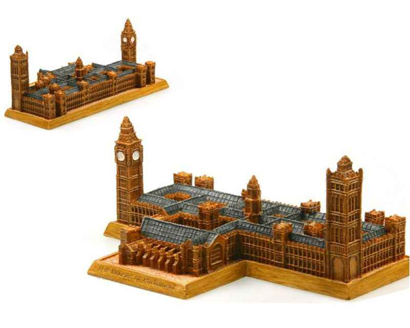 British Parliament House Creative Resin Crafts World Famous Landmark Model Tourism Souvenir Gifts Collection Home Decor