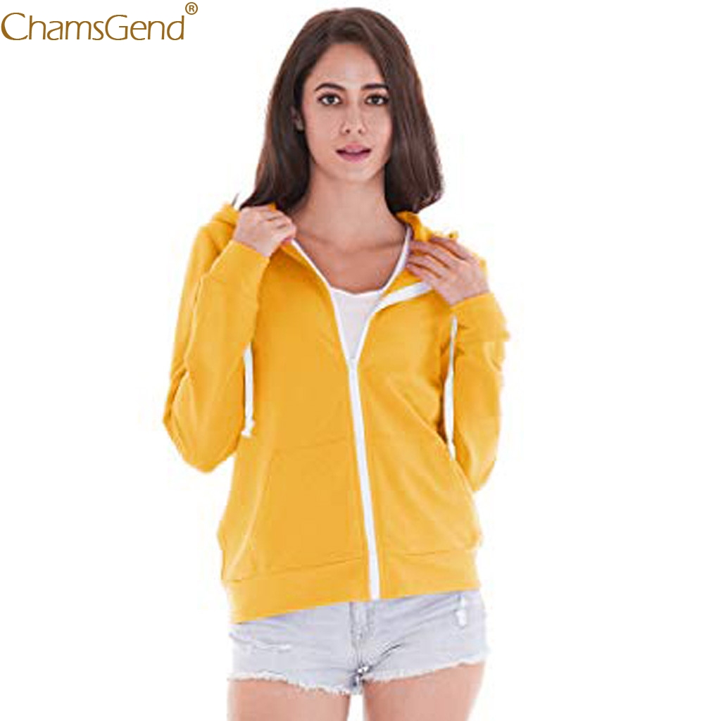 New hooded Coat Pockets Casual Regular Sport Zip up Hooded Long Sleeve Jacket Coat Solid Broadcloth Casual Clothing Dec12