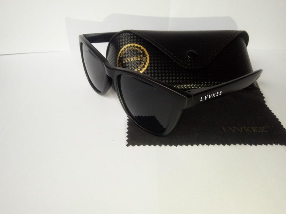 LVVKEE 2017 Mens classic Brand sunglasses Women Black Coating Outdoors sports Sunglass UV400 Eyewear Oculos de sol Original logo