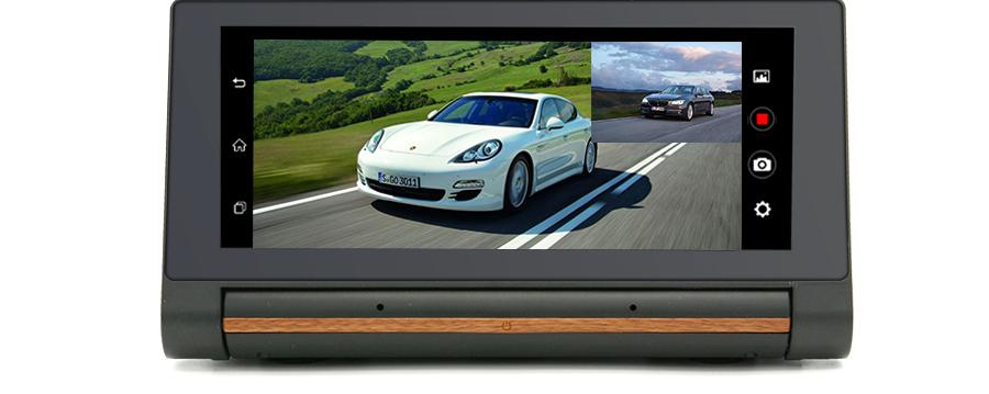 "Junsun 3G Car DVR GPS Camera 6.86""Android dash cam Full HD 1080p Video recorder Wifi Bluetooth registrator Dual lens dvrs Camera 13"