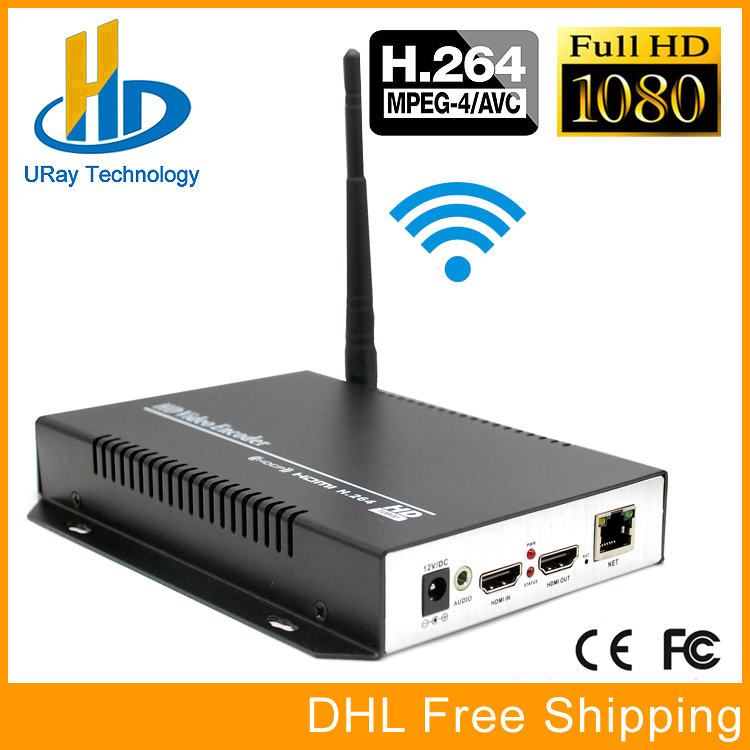 DHL Free Shipping HEVC H264 HDMI Video Audio Wireless RTSP RTMP Streaming Encoder H.264 HD Video To IP Stream Encoder IPTV dhl free shipping h 264 sd hd 3g sdi to ip encoder video streaming encoder h264 iptv live streaming rtsp rtmp encoder