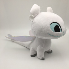 Dragon 3 Toothless Light Fury Plush Toys Soft Stuffed Night Kids Figurine