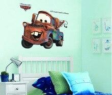 Лучший!  3D Broken Mater Грузовик Автомобиль Для Мальчиков Спальня Самоклеящиеся Детская Комната Обои  Лучший!