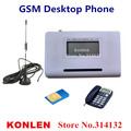 LCD gsm desktop phone fwt fixed SIM card wireless terminal for connect desk telephone or burglar alarm