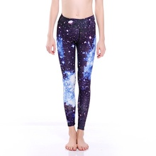 New Arrival Sexy Women Slim Yoga Pants Leggings Elastic Sports Tights Quick-drying Breathable Blue Sky Fitness Lady Trousers