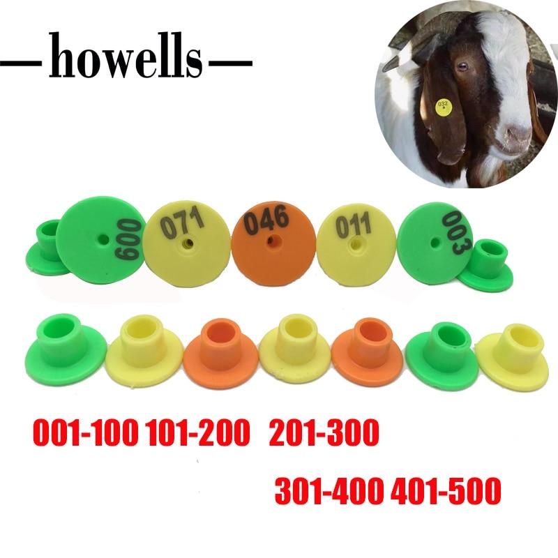 Juh azonosító kártya Kecske szarvasmarha disznó nyúl fül jel - Pet termékek