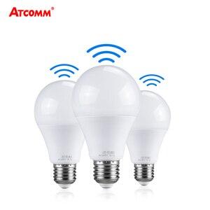 Image 1 - Ampoule LED 27 Light Bulb With PIR Motion Sensor 10W 15W 20W 220V Smart E27 Radar Lamp 6500K A65 A70 A80