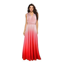 Sexy Women Dress Multiway Wrap Convertible Boho Beach Maxi Club Red Bandage Long Dress Party Bridesmaids Ladies Dress Vestidos