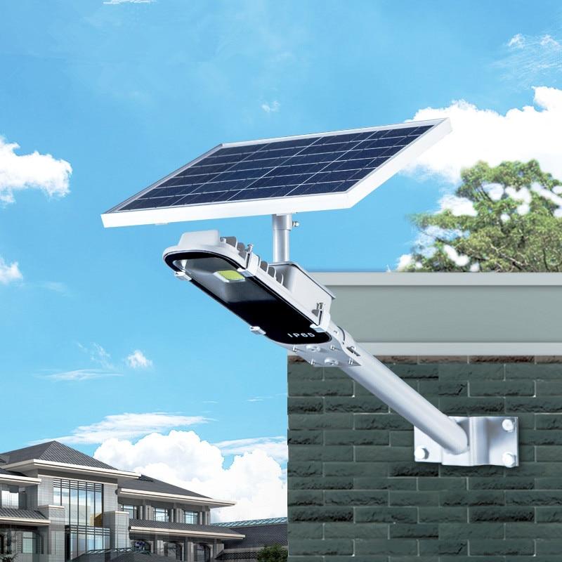 все цены на 8W Luz Solar Lamp Outdoor Led Light 12W Solar Panel Waterproof LED Street Lights Road Lamp Security Lightting For Garden Wall