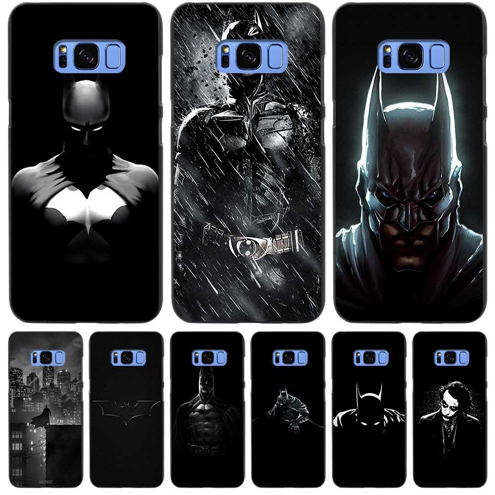 batman dark black case cover shell coque for samsung galaxy s3 s4 s5 mini s6 s7 s8 edge plus s8. Black Bedroom Furniture Sets. Home Design Ideas