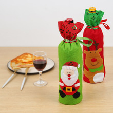 Christmas Decoration Wine Bottle Set New Supplies Xmas Navidad Cover Ornaments 2019