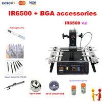 Infrared BGA Rework Machine LY IR6500 IR Rework System Infrared Soldering Station With BGA Accessories