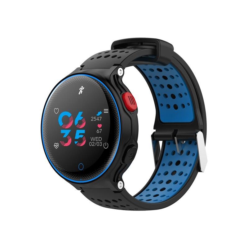 67ea5d1e9e7b 696 natación pulsera inteligente presión arterial X2 IP68 Monitor de ritmo  cardíaco Fitness ...