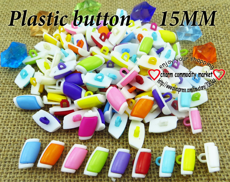 200PCS newly craft plastic cartoon button clothing jewelry accessorize P-103