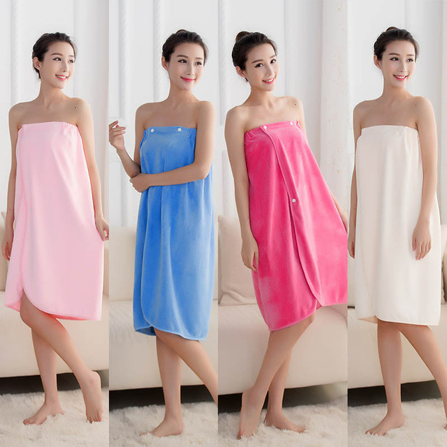 Portable Super Absorbent Beach Bath towel Spa Bathrobes Fast Drying Microfiber Bath Towel Skid Resistance