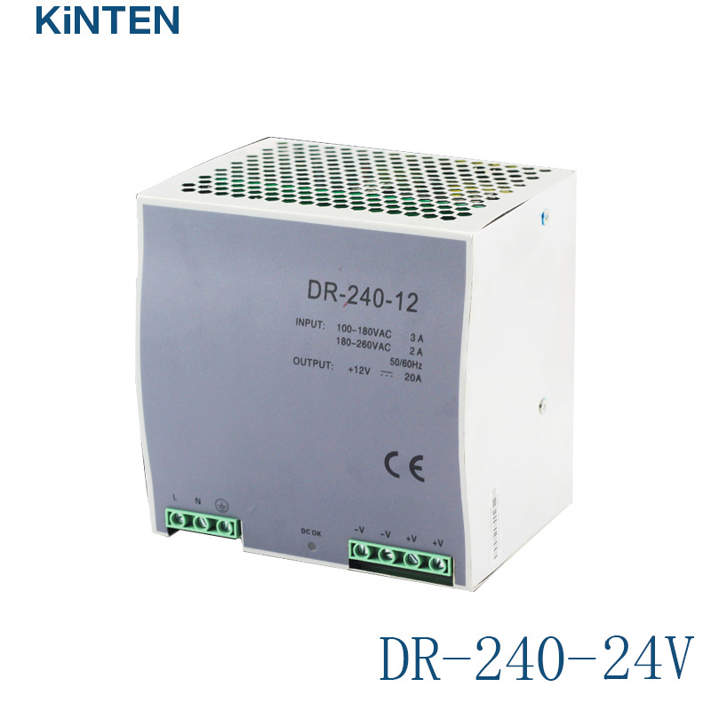 все цены на Rail switch power supply DR-240-24 monitoring industrial switching power supply 24V 10A 240W