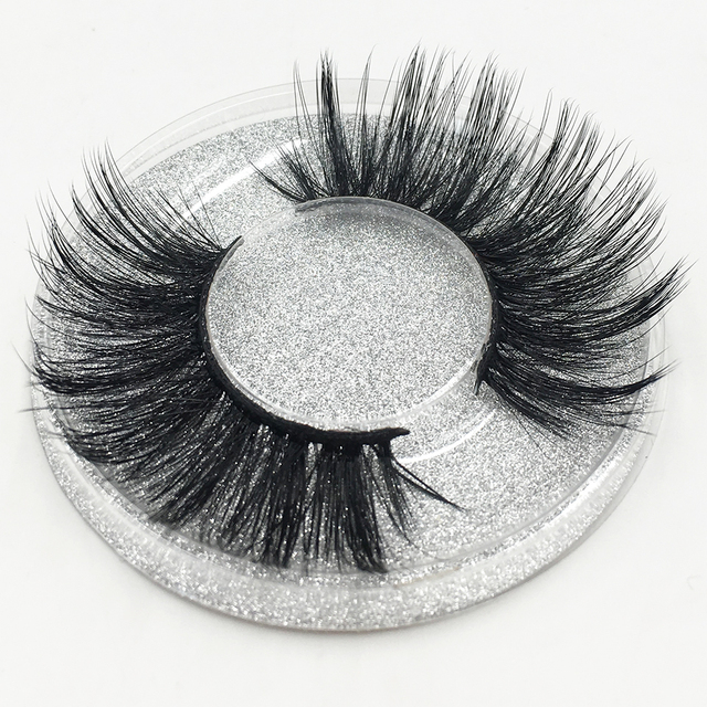 d7098e0b1eb YAQIMEIER. YAQIMEIER LASHES WHOLESALE 25MM FALSE EYELASHES THICK LONG MINK  3D ...