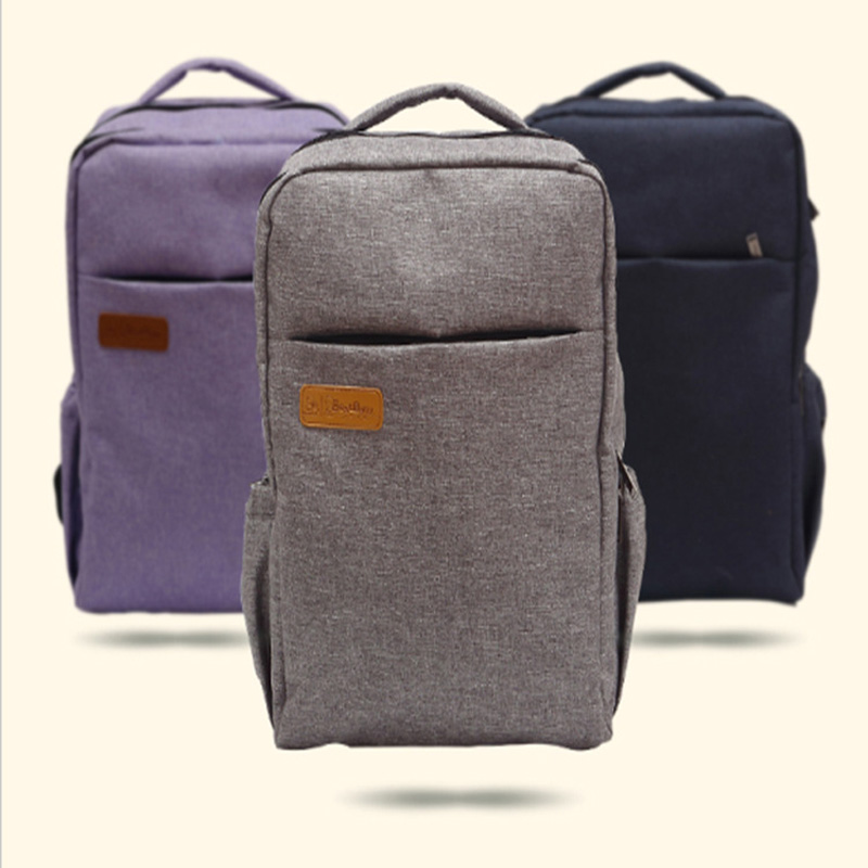 2017 New Baby Diaper Bags High Capacity Nappy Bag Mum Fashion Backpack Mummy Multifunction Tote Handbags Maternity Products Grey 2016 fashion big capacity waterproof diaper bag multifunction mummy maternity nappy bags baby travel bag backpack brand 7 colors