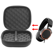 New Portable Carrying Hard EVA Case for SteelSeries Arctis Pro Gaming Headphones Protective Headset Headphone Cases