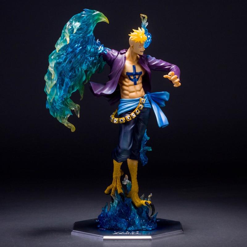 30cm Japanese anime figure one piece Marco action figure ...