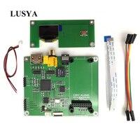 Lusya Amanero Digital XMOS Interface Audio Decoder DAC Sampling Rate Display AK4118 SPDIF I2S Switch board with OLED T0138