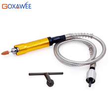 GOXAWEE 0.5-6mm Flexible Shaft Handpiece Advanced Rod Handle Power Tools for Mini Drill Electric Grinder Rotary Tool Accessory
