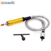GOXAWEE 0 5-6 мм гибкий вал наконечник Расширенный стержень ручка электроинструменты для мини дрели электрический шлифовальный станок аксессуа...