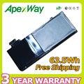 "Apexway 63.5Wh 10.95 V batería del ordenador portátil para apple A1322 MacBook Pro 13 ""Mb990j/a + dos destornilladores"