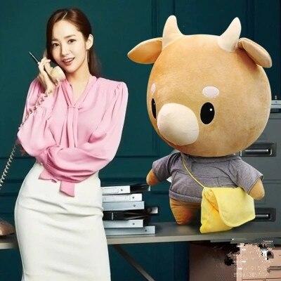 TV Lovely Whats Wrong With Secretary Kim Hard Caw Pet Doll Plush Korean Drama Stuffed Child Toys Birthday Christmas Gift Pillow все цены
