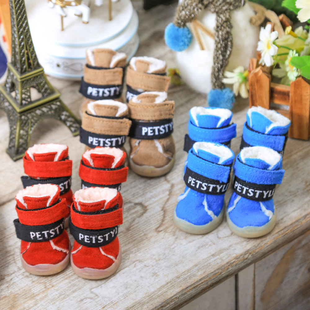 Hot Sale Pet Shoes Dog Snow Boots Yorkie Maltese Chiwawa Dog Shoes
