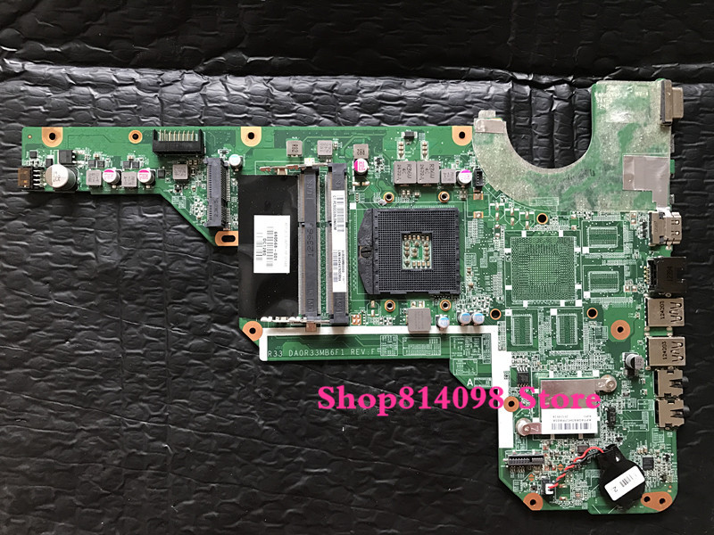 DA0R33MB6E0 DA0R33MB6F1 motherboard 680568-001 for HP Pavilion G4 G6 G7 G4-2000 G6-2000 G7-2000 680568-501 laptop system board laptop motherboard for hp pavilion g4 g6 g7 2000 g6 2000 g4 2000 motherboard da0r33mb6e0 680568 001