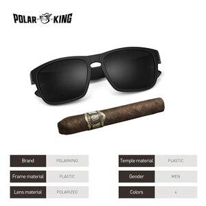 POLARKING العلامة التجارية الاستقطاب النظارات الشمسية للرجال البلاستيك Oculos دي سول الرجال الأزياء مربع القيادة نظارات السفر نظارات شمسية