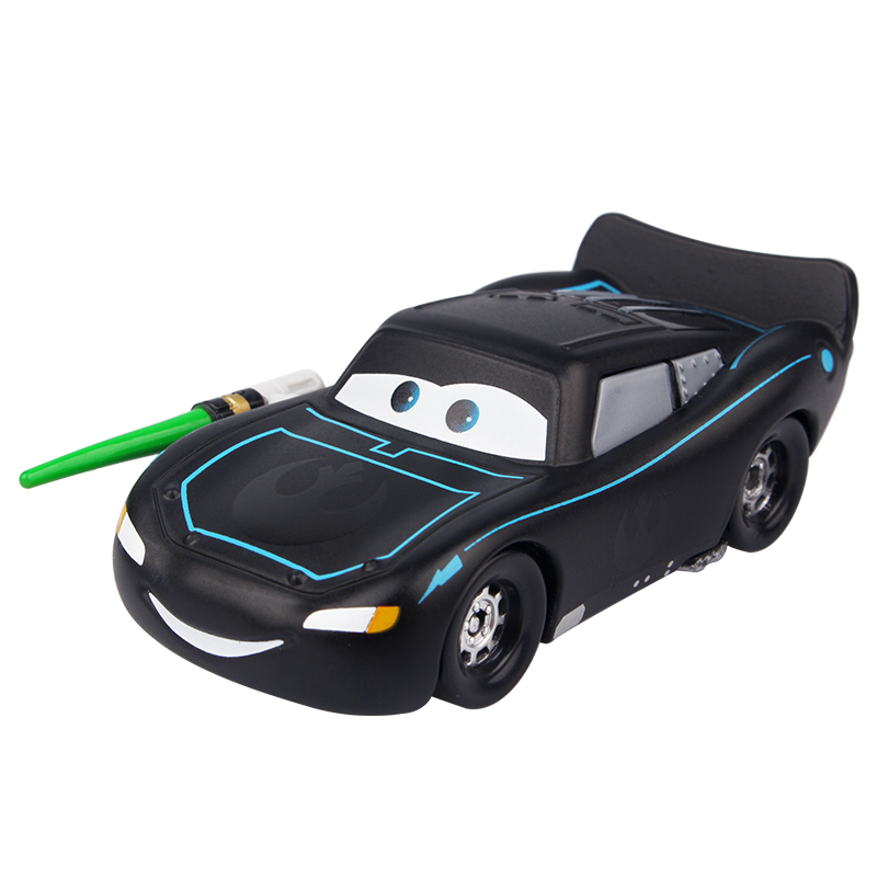 Disney Pixar Cars Cars 2 Lighting McQueen Black Warrior 1:48 Diecast Metal Alloy Toys Birthday Christmas Gift For Kids Cars Toys