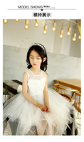 Girl's fashion lace princess dress children's dress costumes and dress for girls
