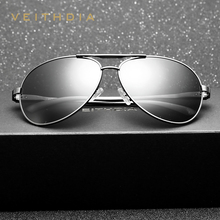 2017 New VEITHDIA Pilot Brand Designer Fashion Sunglasses Men Vintage Polaroized Sun Glasses Eyeglasses gafas oculos de sol 2563