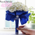 Gorgeous Crystal Wedding Bouquet Red Brooch Couquet Wedding Accessories Artifical Wedding Flowers Bridal Bouquets WF001