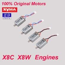 100 Original Syma X8C motor X8W engine X8C X8W Syma spare parts X8C 10 11 4PCS