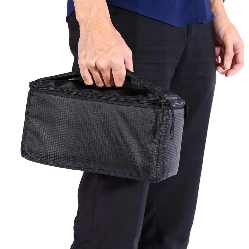 Черный DSLR перегородка мягкая Камера сумка Вставка чехол делитель Водонепроницаемый Встроенная вставка Камера сумка