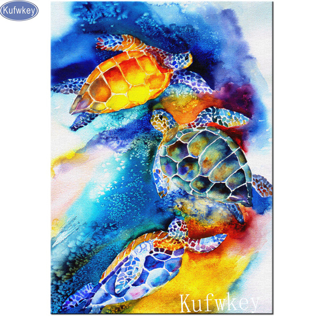 abstract sea turtle