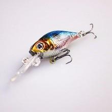 1Pcs High Quality Japan mini Crank Bait Fishing Crankbait Wobbler Pesca isca Artificial Jerkbait Carp Fishing Tackle 60mm 4.2g