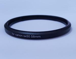 Image 3 - โลหะ Bayonet 58 มม.UV CPL ตัวกรองเลนส์กล้องสำหรับ Canon PowerShot SX520 SX40 SX50 SX60 SX70 HS