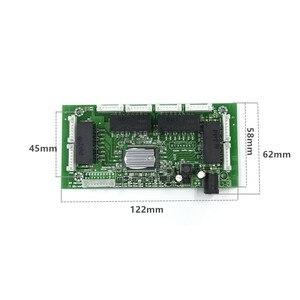 Image 2 - OEM PBC 8 Port Gigabit Ethernet Switch 8 Port met 8 pin way header 10/100/1000 m hub 8way power pin Pcb board OEM schroef gat