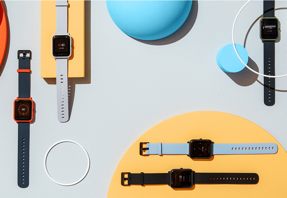 Huami Amazfit Bip Smart Watch With Reflection Color Screen IP68 Waterproof Technology And GPS for Android & iOS 14