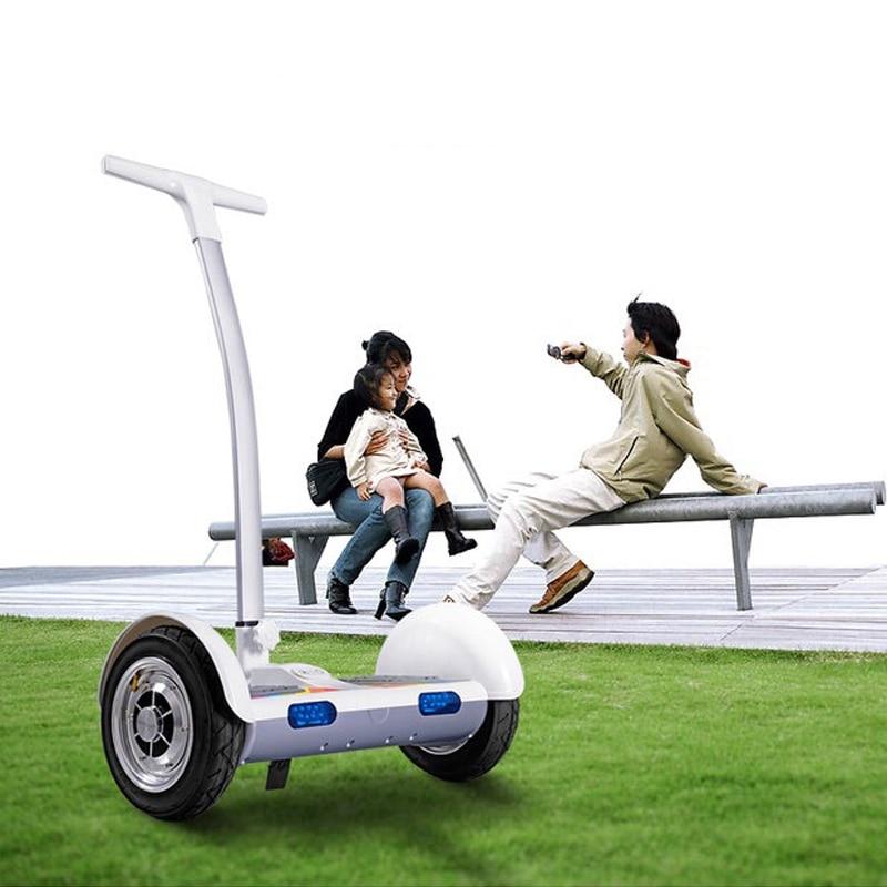 2 ruote Adulto scooter elettrico hoverboard Skateboard corrimano monociclo gyroscooter carriola di Auto bilanciamento del motorino a piedi auto