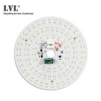 LED Panel Licht 18W 25W Led Leuchtstoffröhre 220V Modul Led für Decke Lichter dimmbare runde led decke Panel Licht-in LED-Flächenleuchten aus Licht & Beleuchtung bei